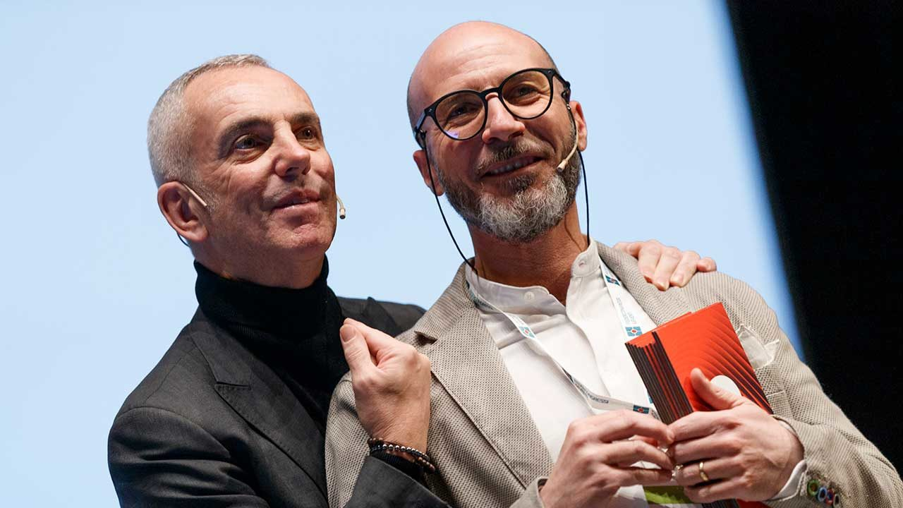 Max Galli e Federico Buffa - formazione in public speaking